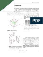 Dispunerea proiectiilor in desenul tehnic