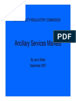 Ancillary Services and Demand Response Eng Jerry Webb