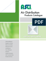 01 Ceiling Diffusers Set-Asli Airconditioning Diffuser