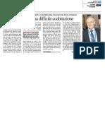 Scienza e diritto, una difficile coabitazione - Il Resto del Carlino del 4 novembre 2014