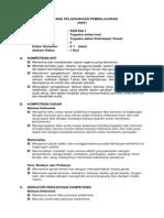 RPP Kelas 2 Semester 1 (Tema 3 Subtema 4)
