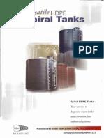 Spiral Hdpe Tanks Malaysia Water Tank