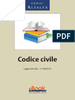 Codice Civile Aggiornato 4 Dicembre 2012