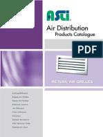 ASLI 03 Return Air Grilles Set