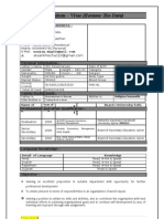 Resume Sanjay Jain