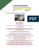 Hotel Management Catalog