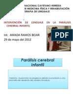Expo.paralisis C. Int.amada Ramos