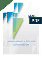 A Reconversão Da Faixa de Protecção Das Linhas de Transporte de Energia Da RNT