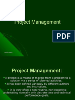 Project Management- Santosh Parashar
