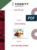 Cognity Szkolenia - Techniki Data Mining