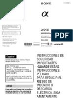 Manual DSLR-A230 Es