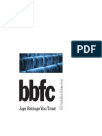 bbfc classification guidelines 2014 0