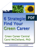 6 Strategies to Find Green Career