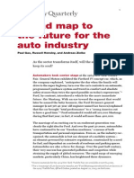 A Road Map to the Future for the Auto Industry