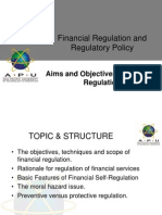 Aims and Obj of Financial Regulation