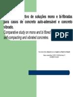 Ensaios Comparativos de Steel Fibres vs. Polipropileno