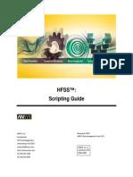 HFSS Scripting