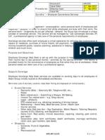 Employee Convenience Services Scheme 2012
