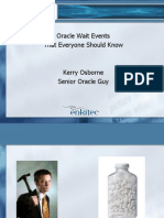 Oracle Wait Events That Everyone Should Know
