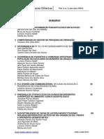 Sumário Fasem Ciências, vol. 3, n.1, 2013