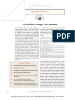 Fluid Solutions in Dengue Shock Syndrome