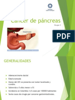 Cancer de Pancreas