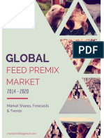 Global Feed Premix Market Report - Limited Preview