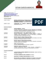 CV Cristian García Moncho (Actualizado a 27-07-2014) CON FUNCIONES