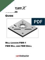 mastercam x5 mill lesson 5 button computing circle rh scribd com