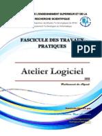 Cours Fascicule TP Atelier Logiciel 2013131001104335