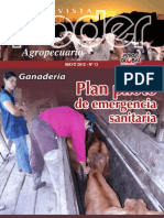 PODER AGROPECUARIO - GANADERIA - N 13 - MAYO 2012 - PARAGUAY - PORTALGUARANI