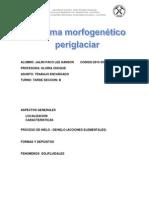 Sistema Morfogenético Periglaciar ORIGINAL