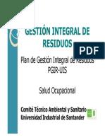 Capacitacion PGIR Tecnicos Laboratorios