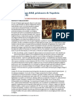 Alberto Royo Mejia - Pío VII Un Papa Débil, Prisionero de Napoleón Bonaparte (y II)