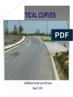 Vertical Curves 5-27-2011