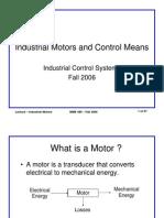 Motors and Control