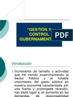 Conferencia Sobre Gestion y Control Gubernament