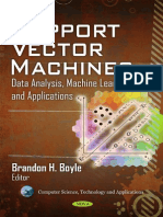 Computer Science, Technology and Applications Support Vector Ma-1