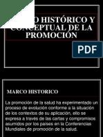 PROMOCION DE LA SALUD, MARCO HISTORICO.ppt