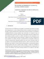 administracion cientifica analisis