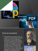 La Psicologia, Ciencia Joven