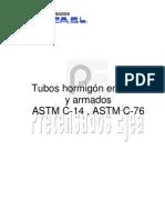 Tubos de Hormigón en Masa y Hormigón Armado - UNE-EN 1916 - MOPTMA - ASTM [ed 5]