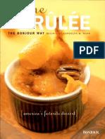 Randolph W. Mann, Creme Brulee the Bonjour Way