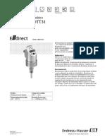 Detector De Caudal Masico Flowphant T DTT31 (Manual De Instrucciones)