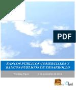 BANCOS PUBLICOS COMERCIALES Y BANCOS PÚBLICOS DE DESARROLLO