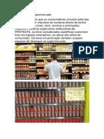 Promoção No Supermercado
