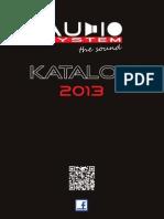 Catálogo Audio System 2013