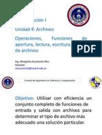Unindad 4 Archivos