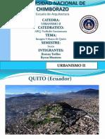 Imagen Urbana de Quito