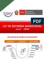 Ley de Reforma Magisterial APROBADO MARZO 2013